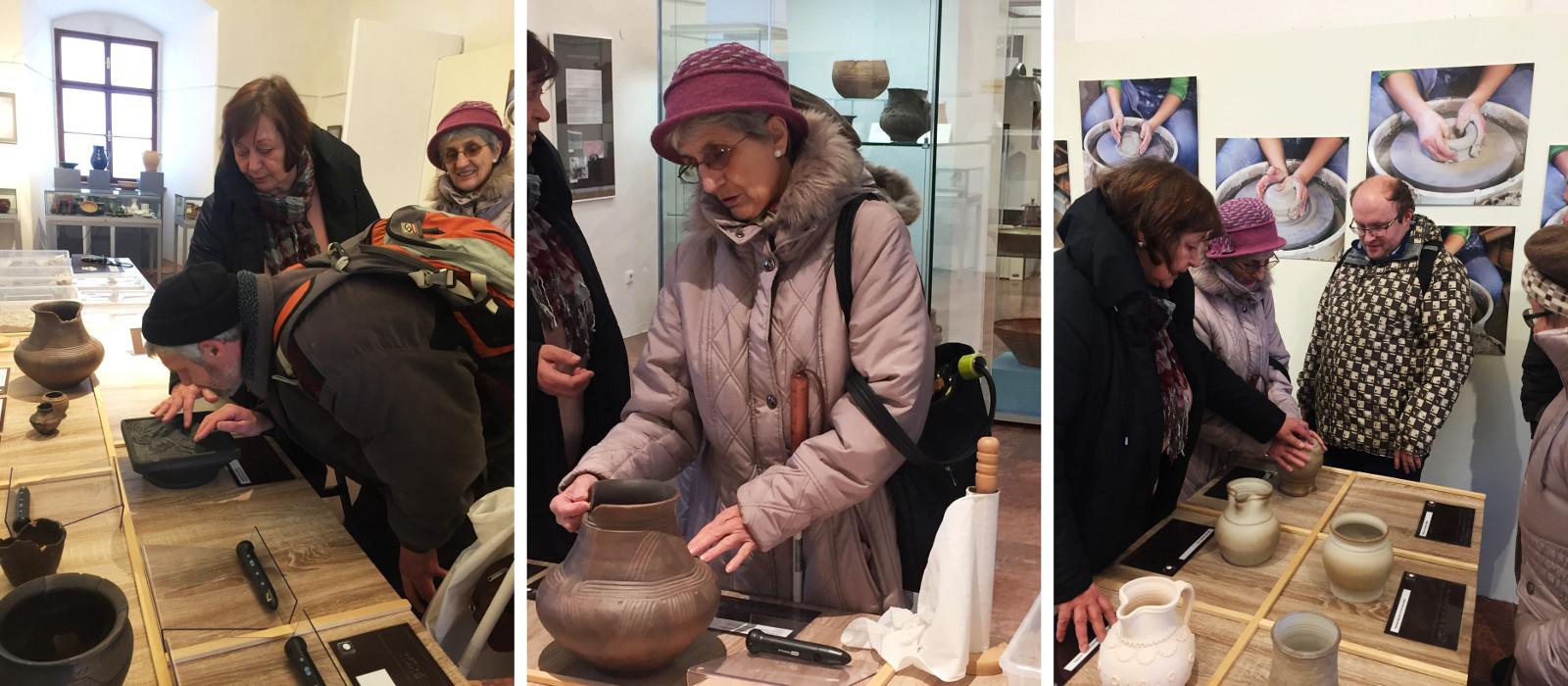 Fotokoláž z výstavy Tajemství hlíny. a97162d8de