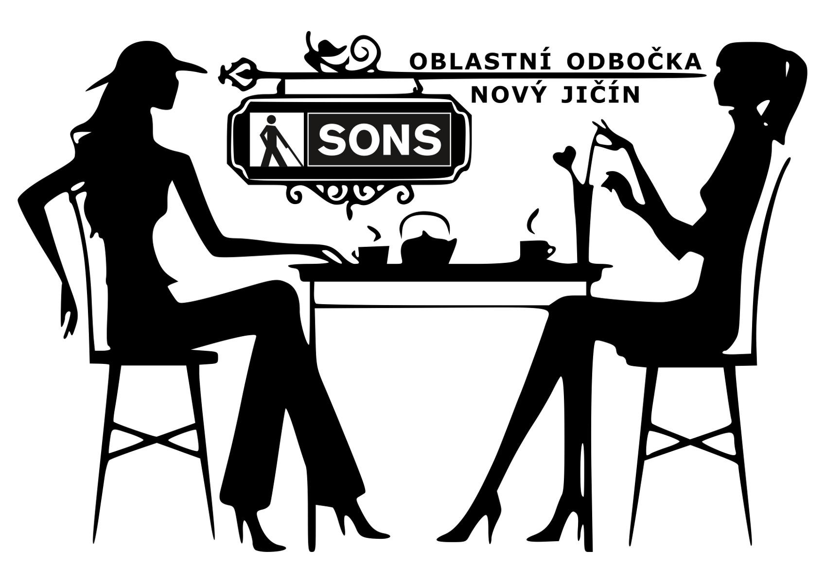 Ilustrativní grafika k Diskuznímu klubu a kavárně.