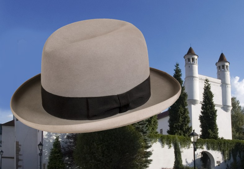 Ilustrativní obrázek k výstavě klobouků v Žerotínském zámku (www.muzeumnj.cz)