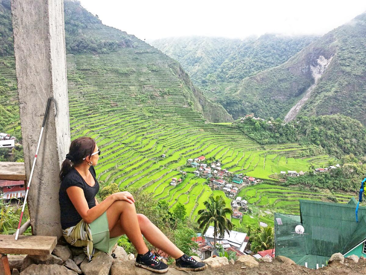 Ilustratiní fotografie z návštěvy Z Habaňové rýžových polí na Filipínách.