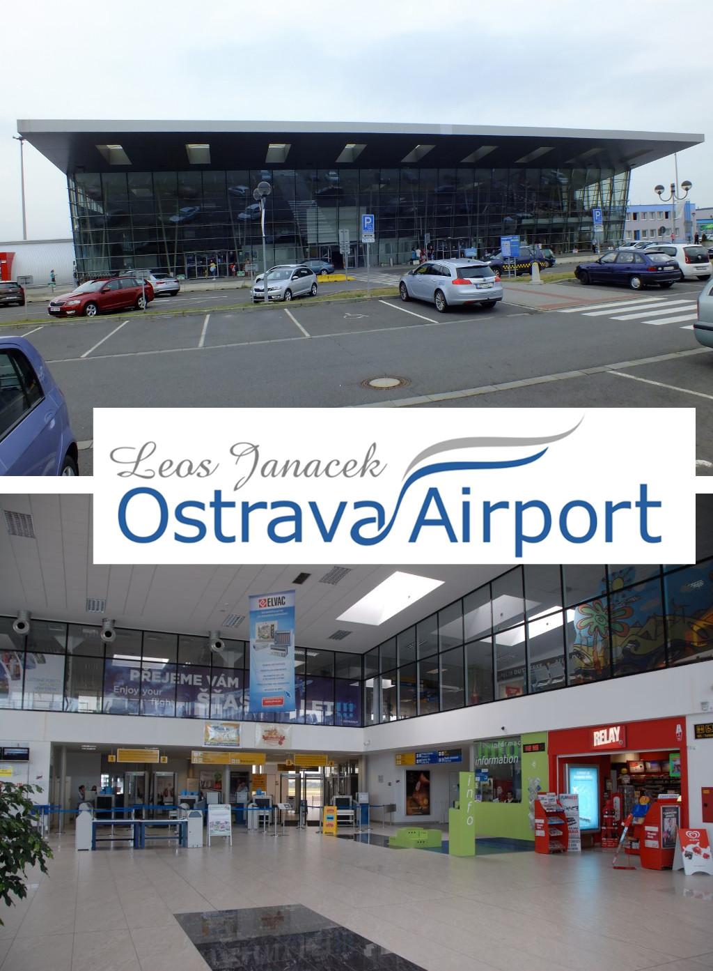 Ilustrativní koláž k Exkurzi letiště Leoše Janáčka v Mošnově.