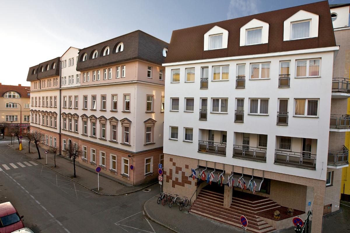 Foto Školního hotelu Junior v Poděbradech.