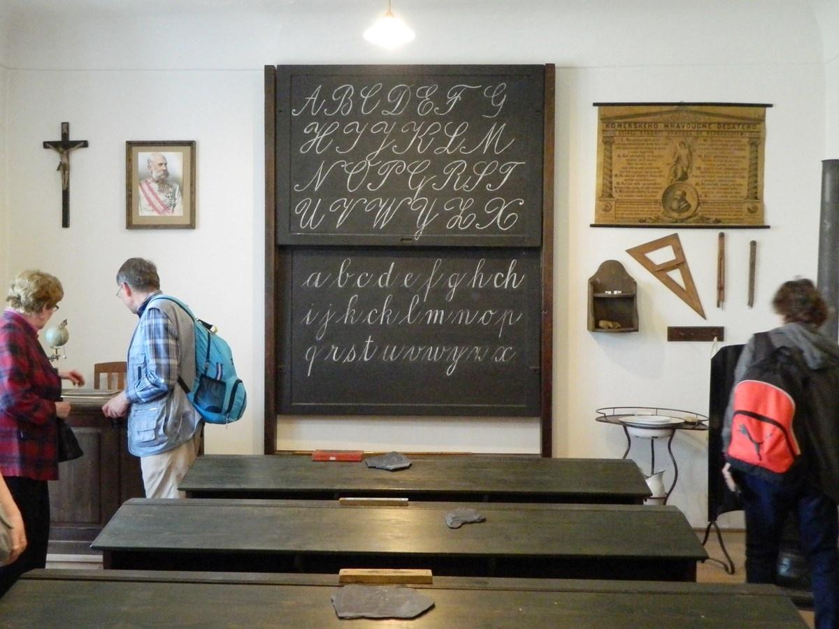 Fotografie z návštěvy Muzea v Přerově.